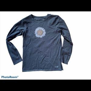 Life is Good Sunflower Shirt
